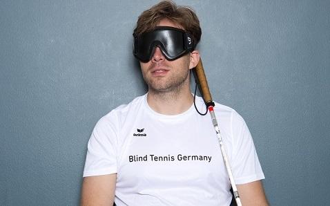 Michael Wahl, Blind Tennis 2017 in CGN für WeltN24